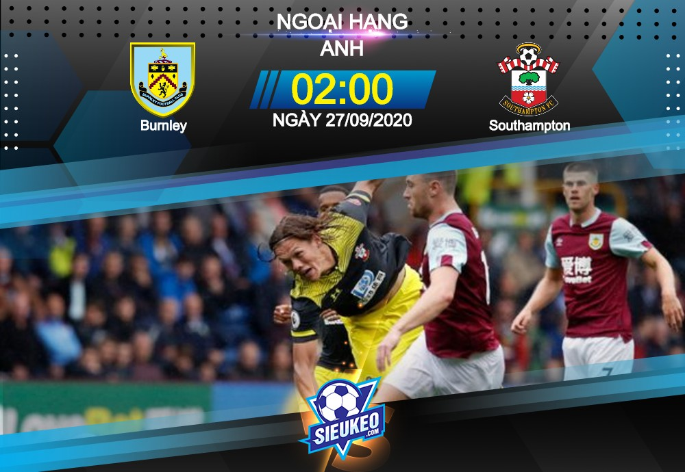 Video Clip Highlights: Burnley vs Southampton – PREMIER LEAGUE – ANH 20-21