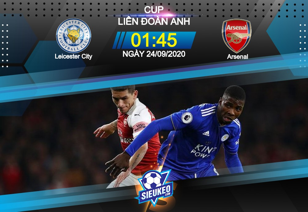 Video Clip Highlights: Leicester City vs Arsenal – LEAGUE CUP – ANH 20-21