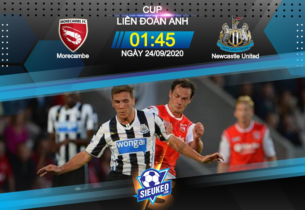 Video Clip Highlights: Morecambe vs Newcastle United – LEAGUE CUP – ANH 20-21