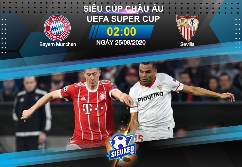 Video Clip Highlights: Bayern Munchen vs Sevilla – UEFA SUPER CUP 2020