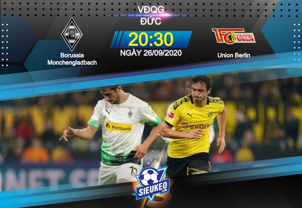 Video Clip Highlights: Gladbach vs Union Berlin – BUNDESLIGA – ĐỨC 20-21