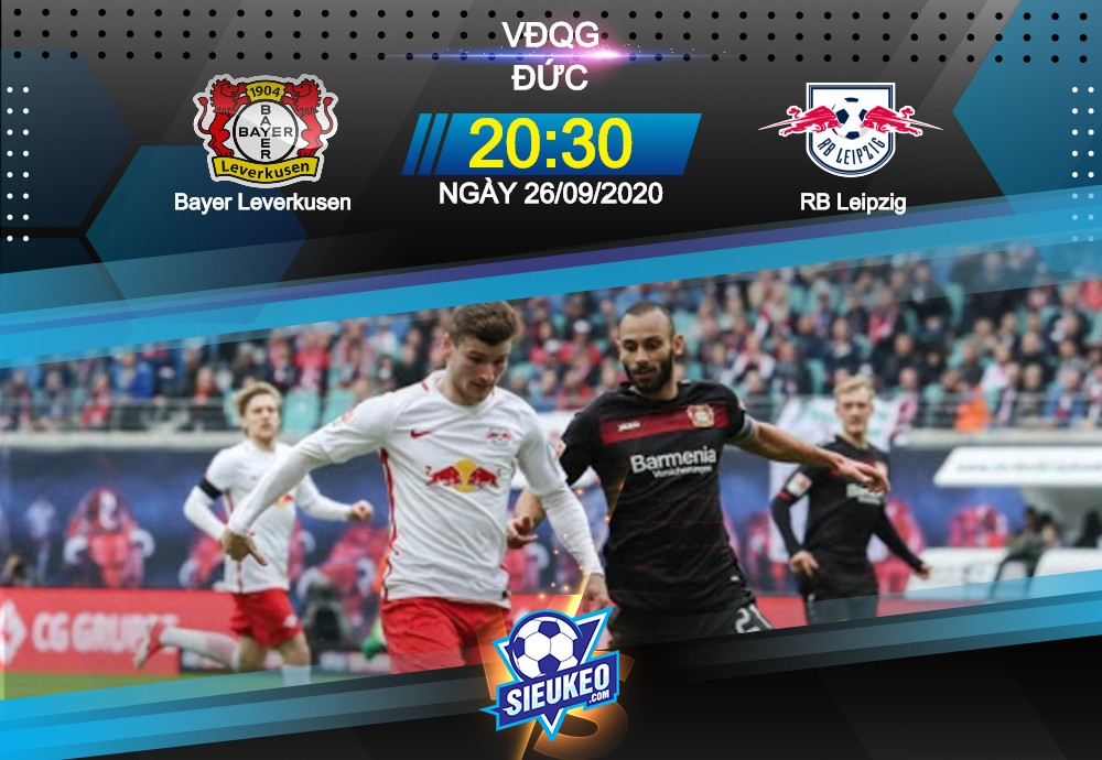 Video Clip Highlights: Leverkusen vs Leipzig – BUNDESLIGA – ĐỨC 20-21
