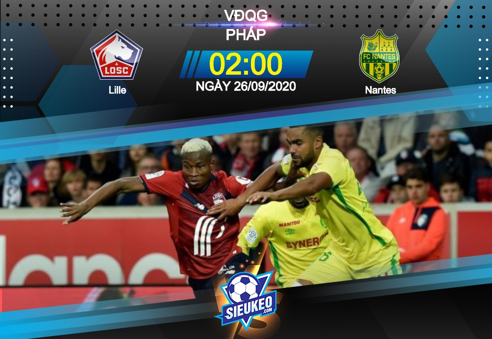 Video Clip Highlights: Lille vs Nantes – LIGUE 1 – PHÁP 20-21