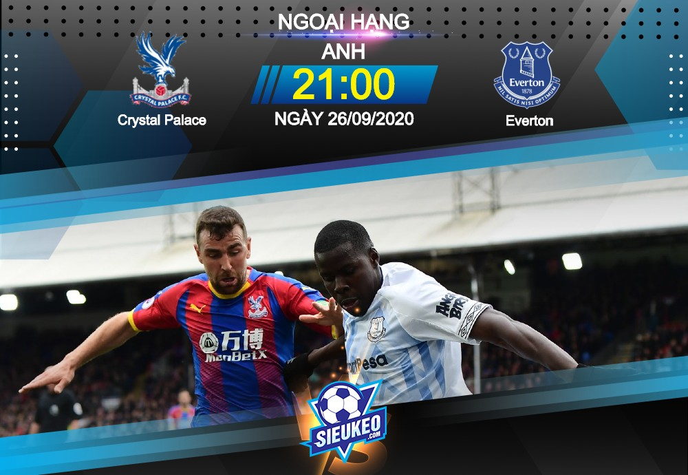 Video Clip Highlights: Crystal Palace vs Everton – PREMIER LEAGUE – ANH 20-21