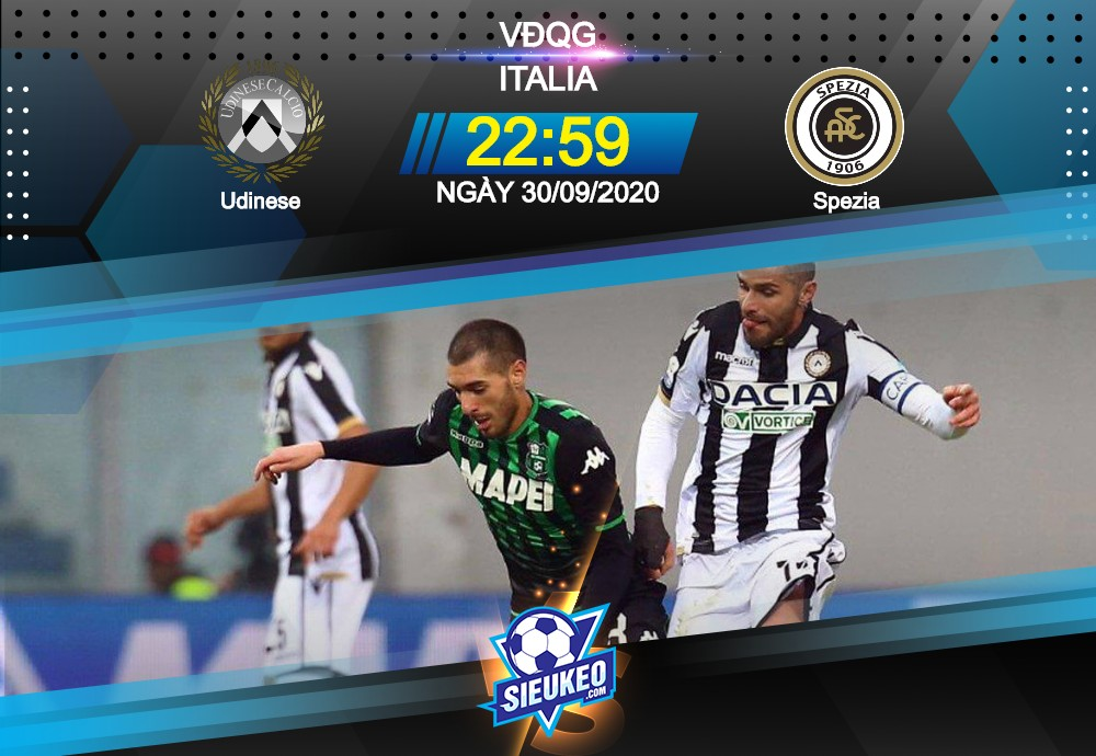 Video Clip Highlights: Udinese vs Spezia – SERIE A – ITALY 20-21